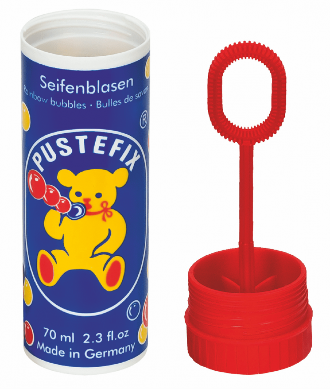 PUSTEFIX plastic can and blowring