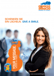 Poster for the company SUCCESS